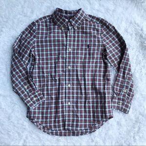 Ralph Lauren Button Up Long Sleeve Shirt Plaid 6